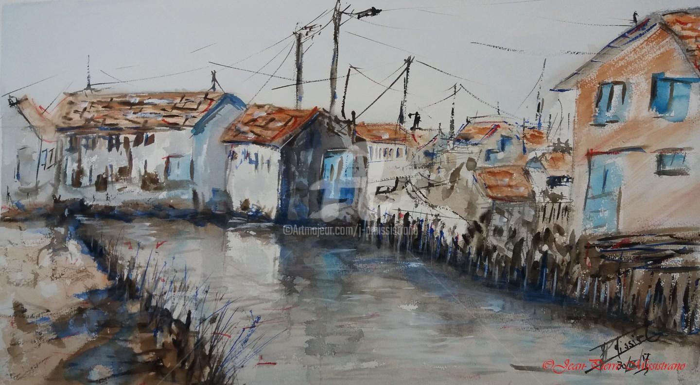 Jean-Pierre Missistrano - Maisons de pêcheurs en Vendée