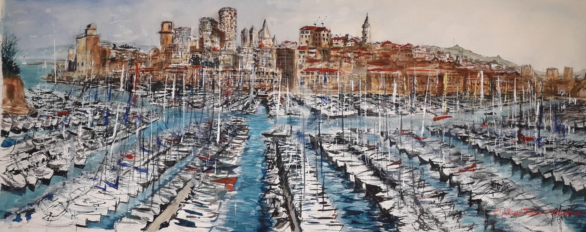 Jean-Pierre Missistrano - Marseille Quai du Port