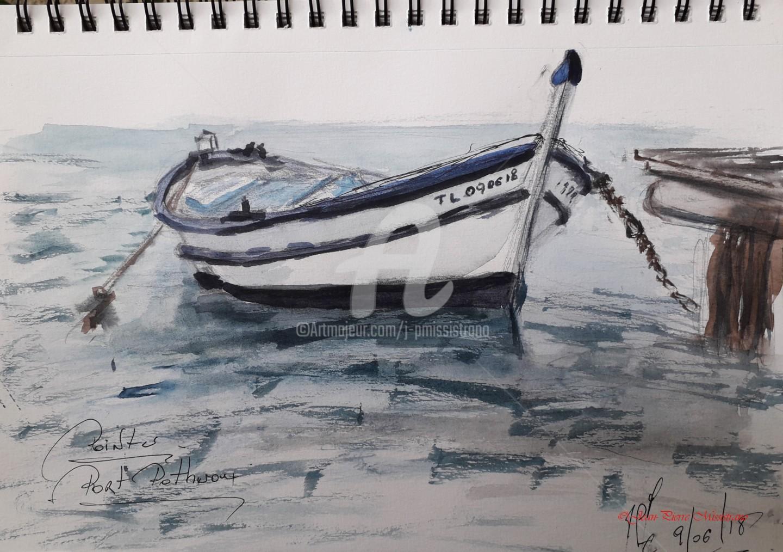 "Jean-Pierre Missistrano - ""Pointu au Port Pothuau"""