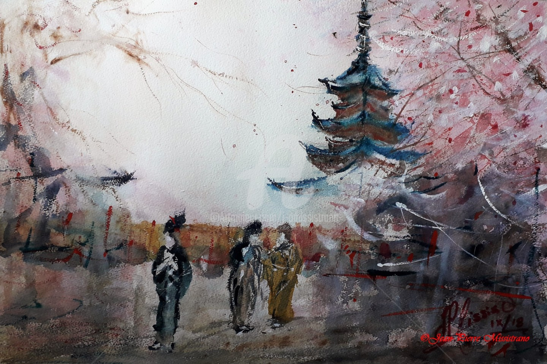 "Jean-Pierre MISSISTRANO - ""Japonisement."""