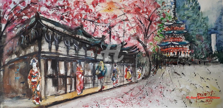 Jean-Pierre MISSISTRANO - Promenade japonaise