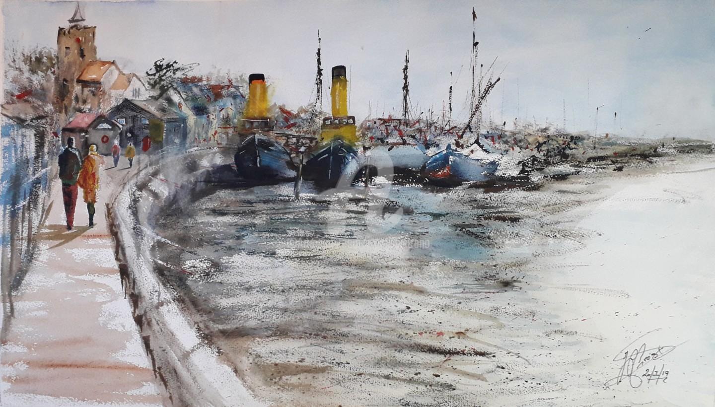 "Jean-Pierre MISSISTRANO - ""Le port Anglais"""