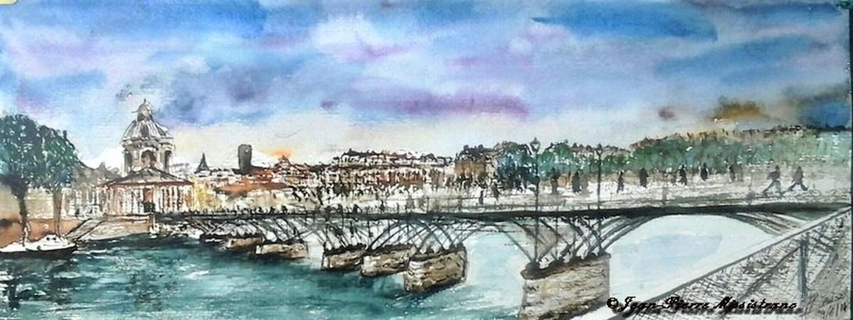 "Jean-Pierre Missistrano - ""Le Pont des Arts"""