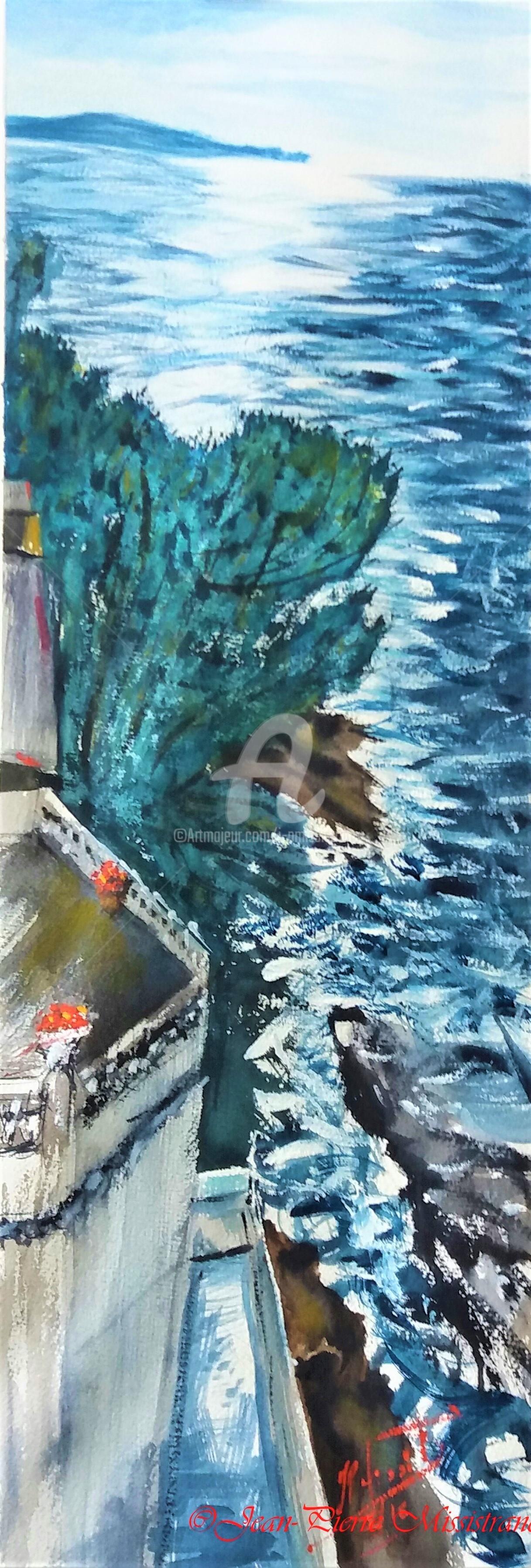 Jean-Pierre Missistrano - Terrasse sur mer