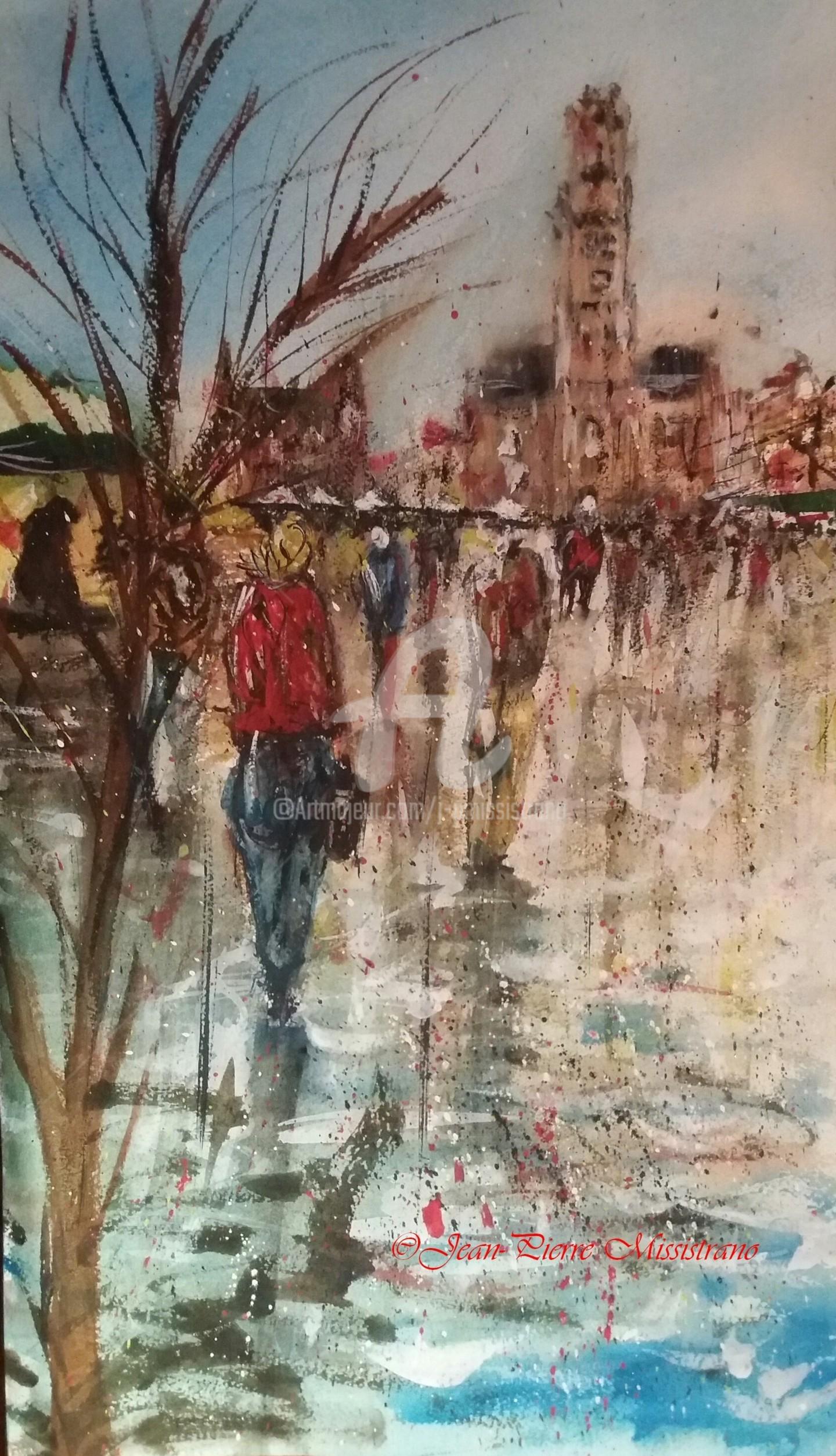 Jean-Pierre Missistrano - Il pleut sur Bruges