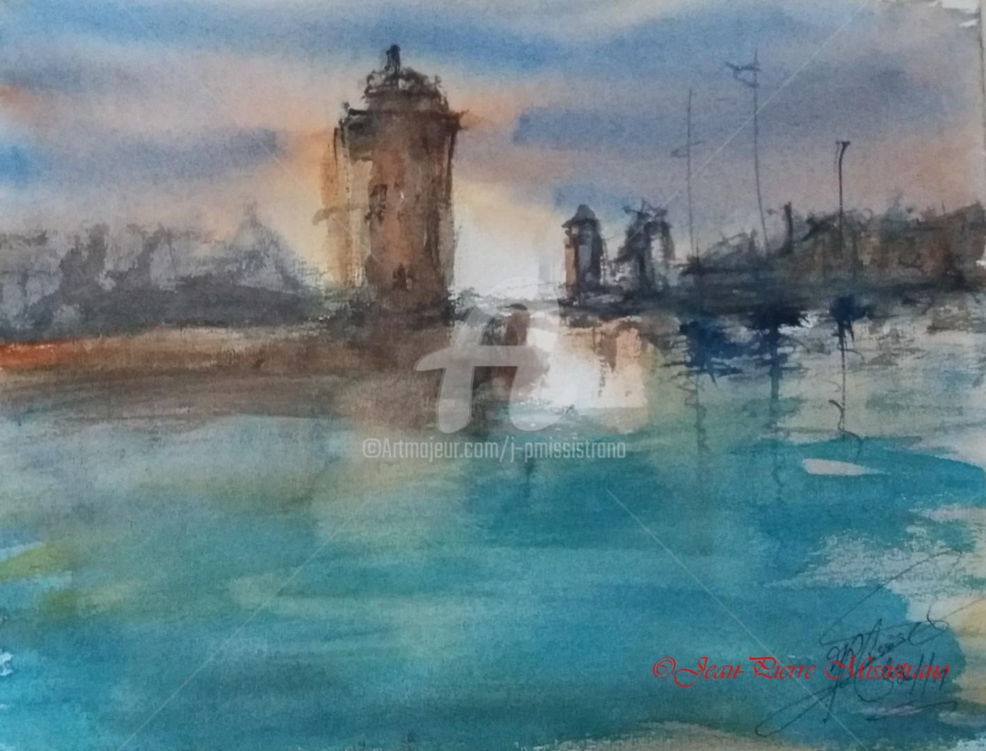 Jean-Pierre Missistrano - Entrée d'un port