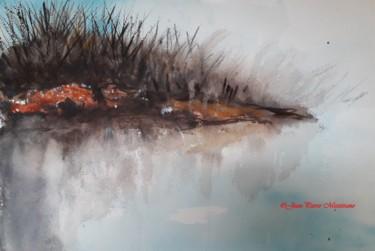 L'île fluviale en automne