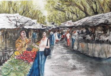 """""""Jour de marché à Sanary / Mer"""
