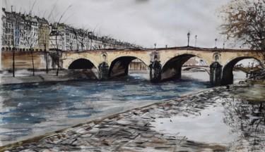 """""""La flaque, du Pont Marie"""""""