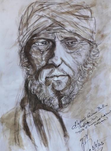 """Etude """"Tête d'homme au turban"""". G. Bellini"""