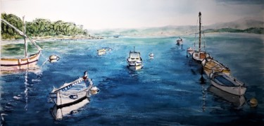 """""""Mouillage en lagune, à Six-Fours"""""""