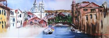 Un pont, un canal à Venise